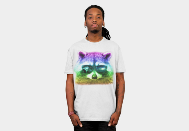 Racoon T-Shirt - Design By Humans