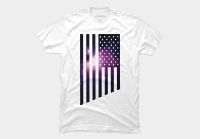 Galaxy USA Men's T-Shirt