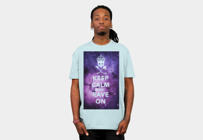 Rave On! II (EDM Series) T-Shirt - Design By Humans