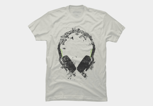 Art Headphones V2 Men's T-Shirt