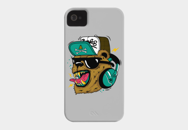 Boom, Boom Bear Phone Case - Design By Humans