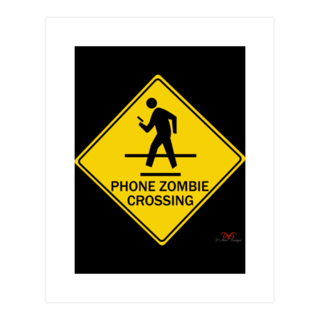Phone Zombie Crossing