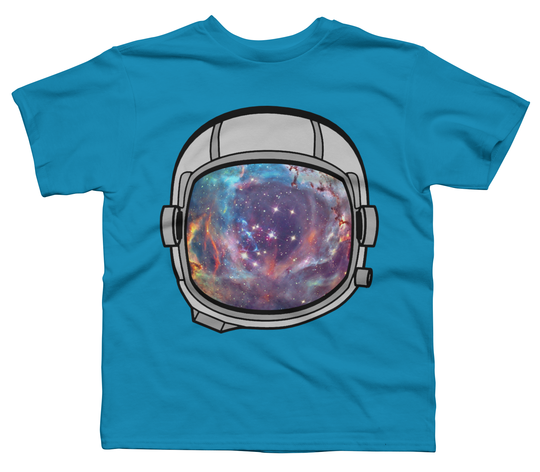 Space Helmet Boy's T-Shirt