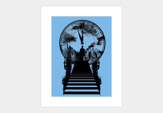Only Time Art Print - Design By Humans