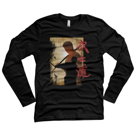 Samurai Bushido tee shirt version 2