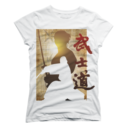 Samurai Bushido tee shirt version 3