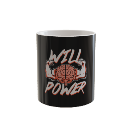 Brawn and Brains Will Power Mug