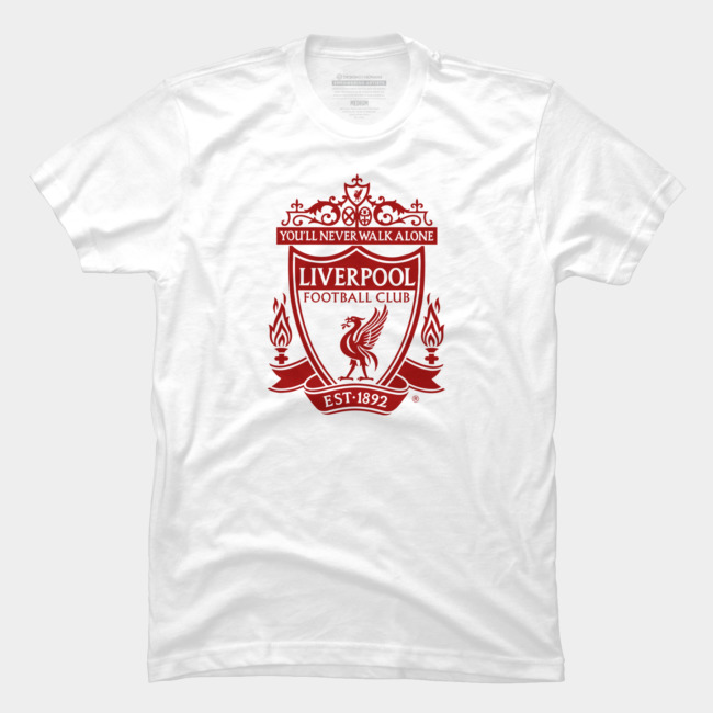 116086575b7 Classic Emblem T Shirt By LiverpoolFC Design By Humans