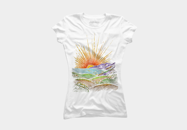 in the evening Women's T-Shirt