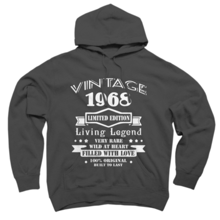 Vintage  1968 - 50th birthday Limited Edition