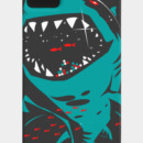 Elov wearing Shark with pixelated teeth! by gloopz
