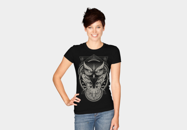 Alchemy Owl T-Shirt - Design By Humans