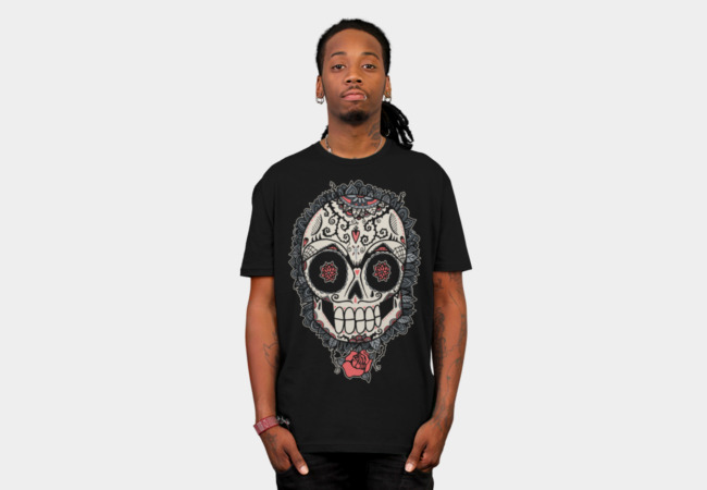 Muerte Acecha T-Shirt - Design By Humans