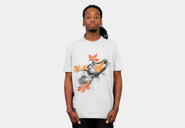 Autumn Butterflies T-Shirt - Design By Humans