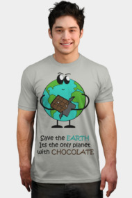 the only planet with chocolate